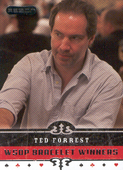 2006 Razor Poker #75 Ted Forrest