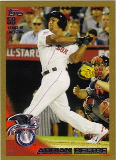 2010 Topps Update Gold #US328 Adrian Beltre