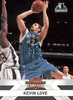2010-11 Panini Threads #44 Kevin Love