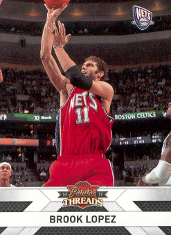 2010-11 Panini Threads #45 Brook Lopez
