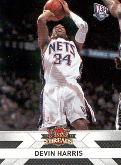 2010-11 Panini Threads #47 Devin Harris