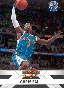 2010-11 Panini Threads #48 Chris Paul