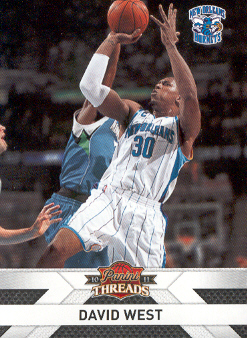 2010-11 Panini Threads #49 David West