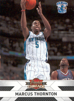 2010-11 Panini Threads #50 Marcus Thornton