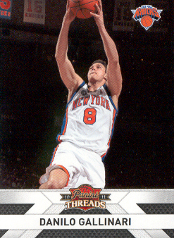 2010-11 Panini Threads #53 Danilo Gallinari
