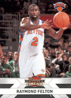 2010-11 Panini Threads #54 Raymond Felton