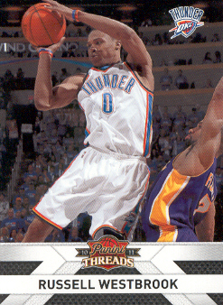 2010-11 Panini Threads #56 Russell Westbrook