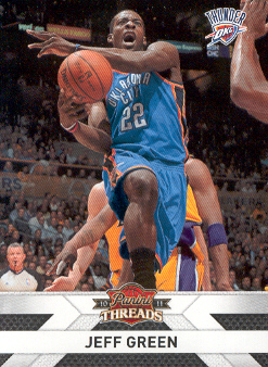 2010-11 Panini Threads #57 Jeff Green
