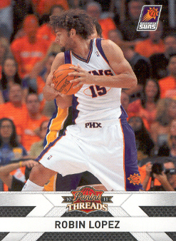 2010-11 Panini Threads #66 Robin Lopez