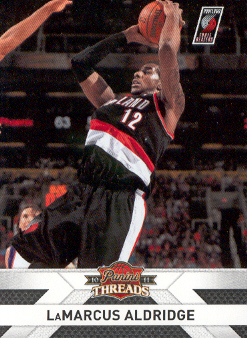 2010-11 Panini Threads #68 LaMarcus Aldridge