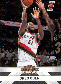 2010-11 Panini Threads #71 Greg Oden