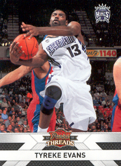 2010-11 Panini Threads #72 Tyreke Evans