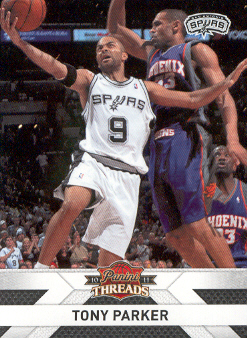 2010-11 Panini Threads #76 Tony Parker