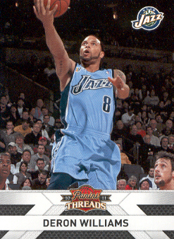 2010-11 Panini Threads #82 Deron Williams