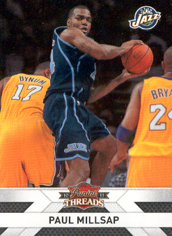 2010-11 Panini Threads #84 Paul Millsap