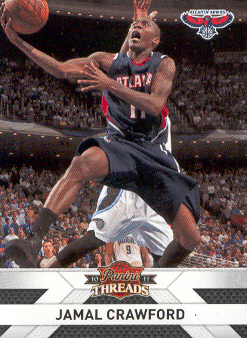 2010-11 Panini Threads #91 Jamal Crawford