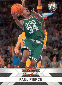 2010-11 Panini Threads #92 Paul Pierce