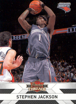 2010-11 Panini Threads #96 Stephen Jackson