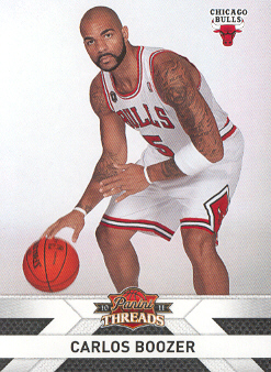2010-11 Panini Threads #99 Carlos Boozer
