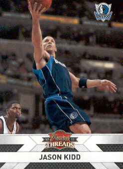 2010-11 Panini Threads #107 Jason Kidd
