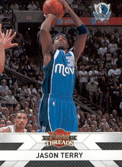 2010-11 Panini Threads #108 Jason Terry