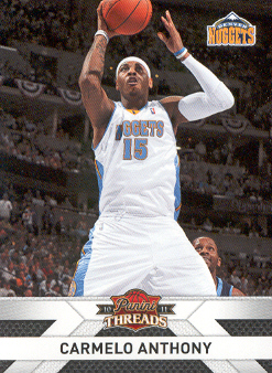 2010-11 Panini Threads #109 Carmelo Anthony