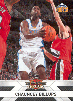 2010-11 Panini Threads #110 Chauncey Billups