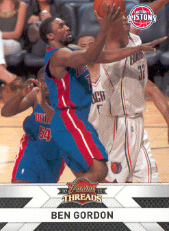 2010-11 Panini Threads #113 Ben Gordon