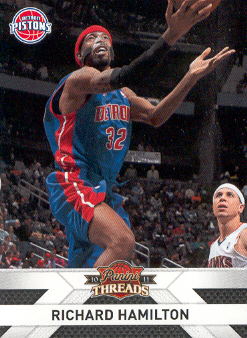 2010-11 Panini Threads #114 Richard Hamilton