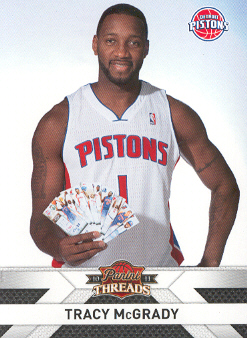 2010-11 Panini Threads #115 Tracy McGrady