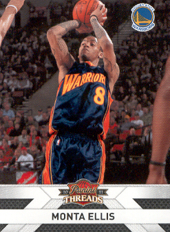 2010-11 Panini Threads #116 Monta Ellis