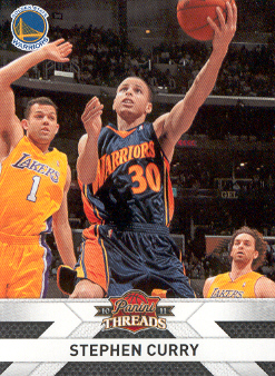 2010-11 Panini Threads #117 Stephen Curry