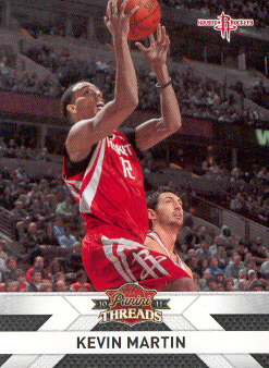 2010-11 Panini Threads #120 Kevin Martin