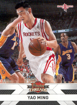 2010-11 Panini Threads #122 Yao Ming