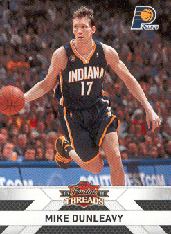 2010-11 Panini Threads #124 Mike Dunleavy