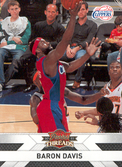 2010-11 Panini Threads #126 Baron Davis