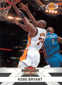 2010-11 Panini Threads #129 Kobe Bryant