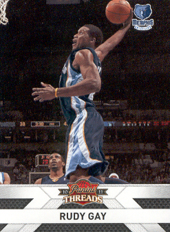2010-11 Panini Threads #133 Rudy Gay