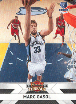 2010-11 Panini Threads #134 Marc Gasol