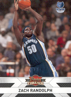 2010-11 Panini Threads #135 Zach Randolph