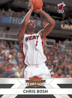 2010-11 Panini Threads #136 Chris Bosh