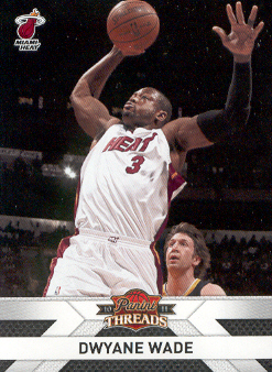 2010-11 Panini Threads #137 Dwyane Wade