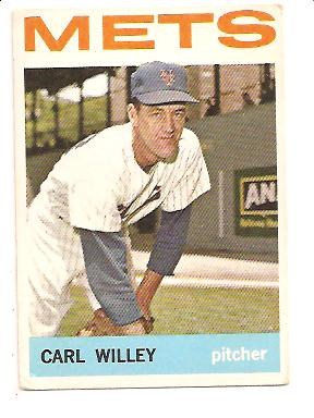 1964 Topps #84 Carl Willey