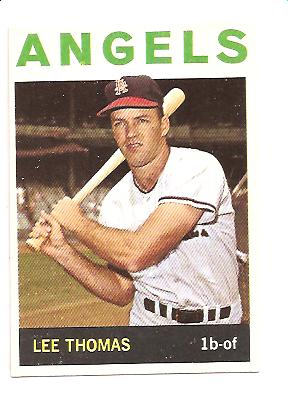 1964 Topps #255 Lee Thomas