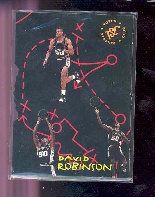 1994-95 Stadium Club Versus #9 David Robinson RARE card
