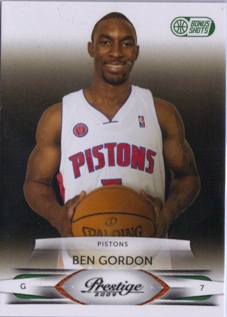 2009-10 Prestige Bonus Shots Green #12 Ben Gordon