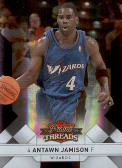 2009-10 Panini Threads Century Proof Silver #12 Antawn Jamison