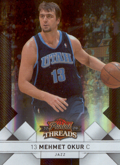 2009-10 Panini Threads Century Proof Silver #49 Mehmet Okur