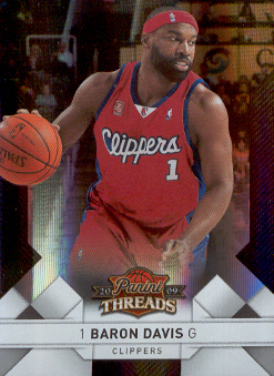 2009-10 Panini Threads Century Proof Silver #50 Baron Davis