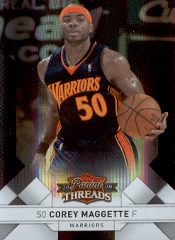 2009-10 Panini Threads Century Proof Silver #53 Corey Maggette